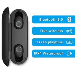 Image 2 - Беспроводные наушники Instock LEAGOO TWS A3/AirBass A3, голосовое управление, Bluetooth 5,0, шумоподавление, сенсорное управление