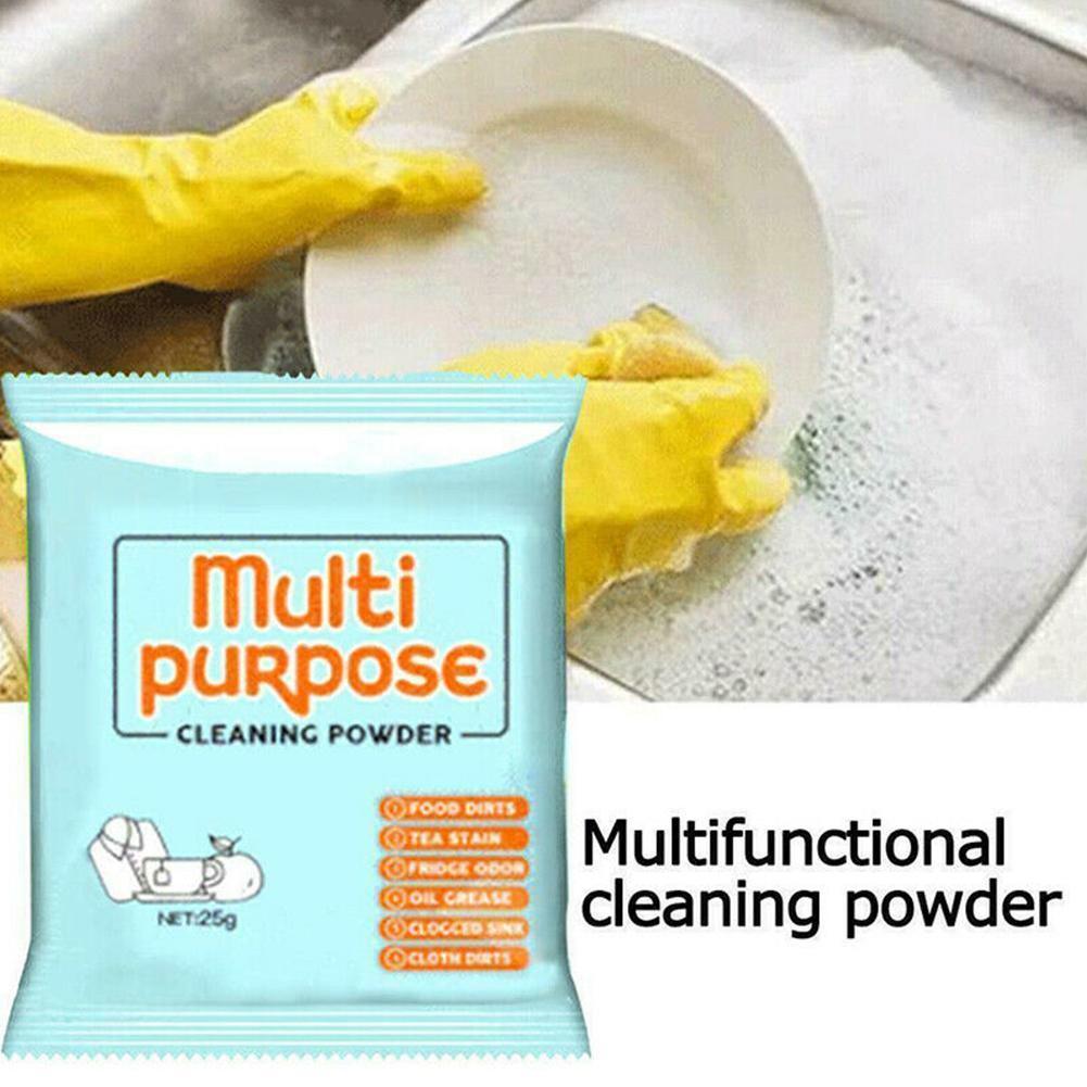 Multifunctional Cleaning Powder Kitchen Grease Cleaner Soda Decontamination Baking Soda Deodorization Household Multi Purpose