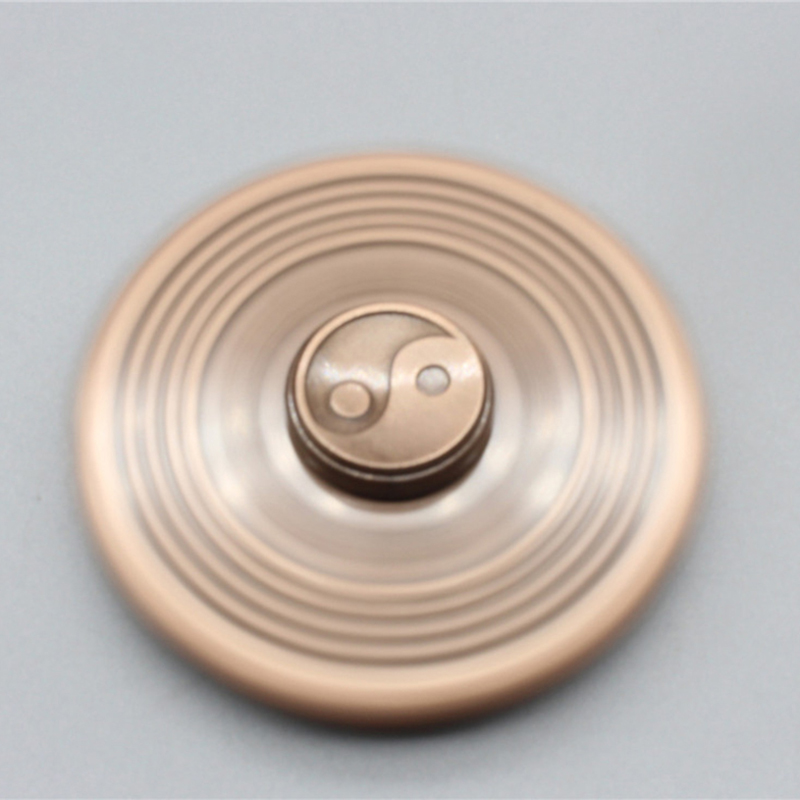Fidget Spinner Finger-Gyro Anti-Stress Metal Toy Eight Adult Gift Taiji Diagrams img2