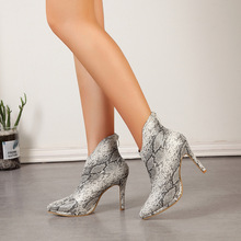 women ankle boots high heels pumps pointed toe stiletto shoes woman chaussure zapatos mujer  wxz166 цены
