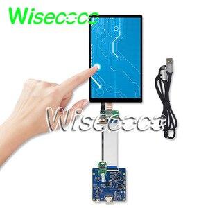 Wisecoco pantalla LCD IPS de 7 pulgadas 1200*1920 HDMI Tarjeta de controlador MIPI soporte de pantalla táctil USB Win7 8 10 Raspberry Pi 3 LT070ME05000