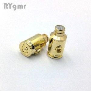 Image 2 - GM80 auriculares intrauditivos de metal de 8mm, sonido de calidad, música HIFI, auriculares realmente bull con conector MMCX