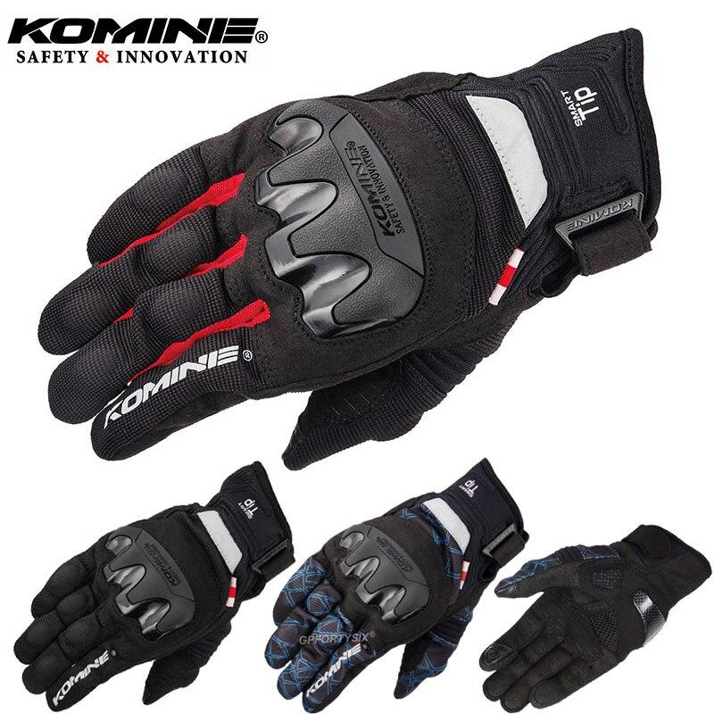 Для мотоциклетных перчаток KOMINE GK-220 3D, сетчатые перчатки для езды на мотоцикле/гоночном велосипеде, летние дышащие