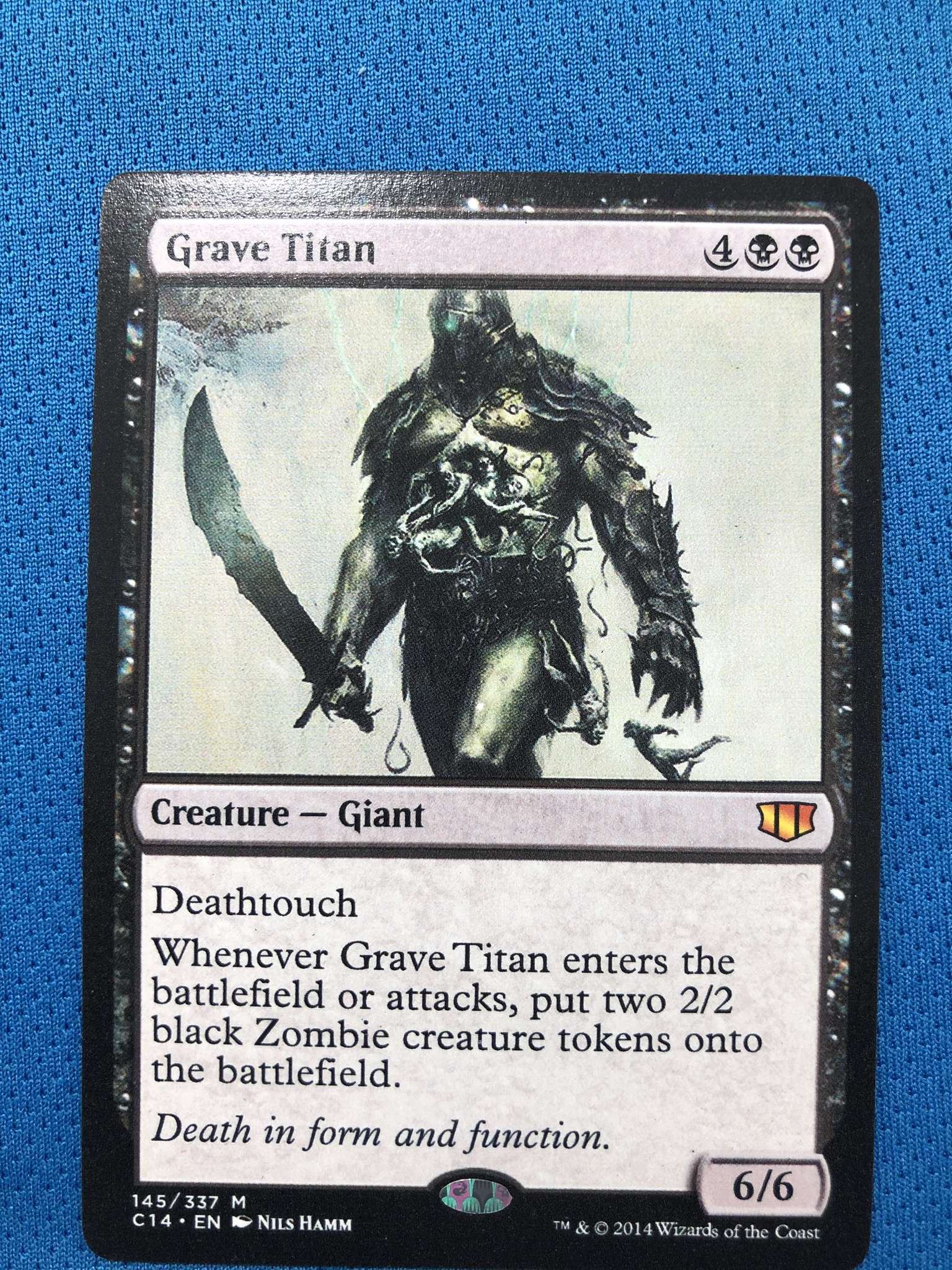 Grave TitanCommander 2014 Hologram Magician ProxyKing 8.0 VIP The Proxy Cards To Gathering Every Single Mg Card.