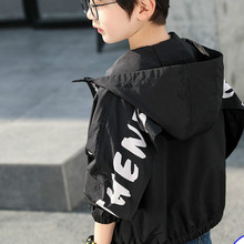 2020 boy fashion jacke thin zipper coat  kids jackets for boy baby jacke unq jacke