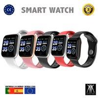 Reloj Inteligente Hombre Mujer Smart Watch M6 Smartwatch Smart Band frecuencia cardíaca, salud, deporte, impermeable