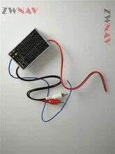 ZWNAV Car DVD Player Screen Radio Model Radio FM transmitter For XC90 Without AUX