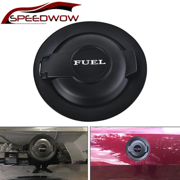 SPEEDWOW Fuel Filler Door Cover Tank Oil Cap Fuel Gas Door Vapor Edition 68250120AA For 2008-2019 Dodge Challenger Car Styling