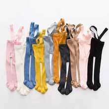Tights Toddler Suspender Breathable Overall-Leggings Pantyhose Spring Baby Infant Autumn