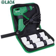 LAOA /40W/8W/100W Hot Melt Glue Gun With Bag 7mm Thermal Glue Hot Melt Guns Pistolet a Colle Soldering Gun