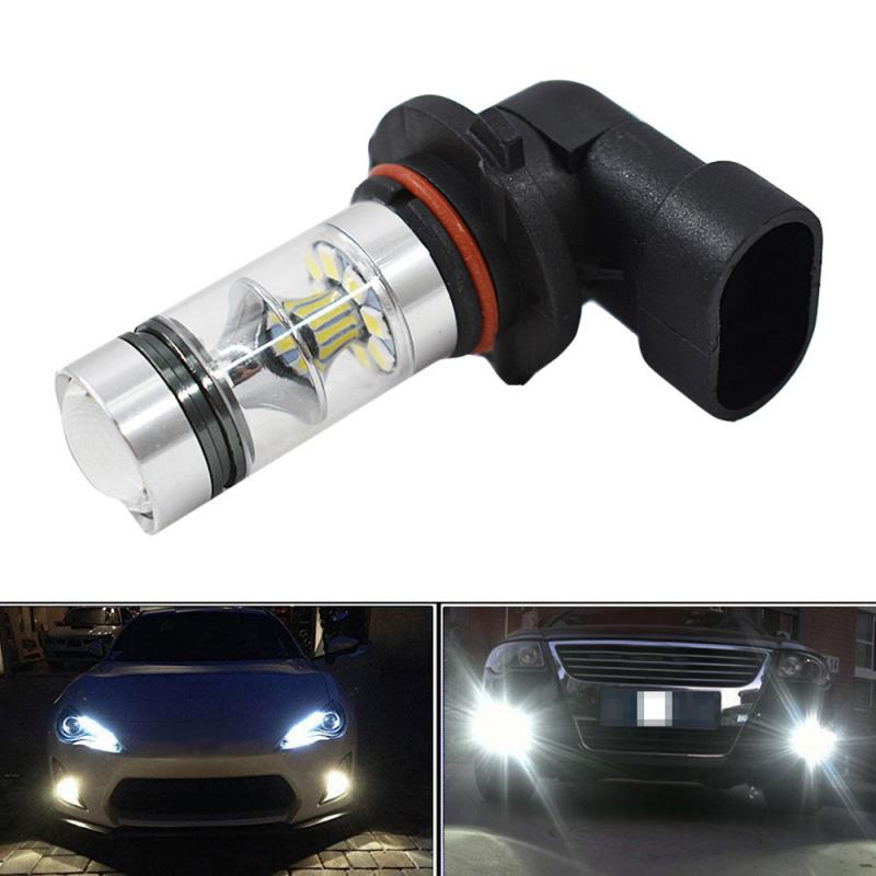 1pc High Power 100W Fog Light Car Auto H10 9145 Front Fog Driving Light Bulb 6000K  Auto Turn Side Lamps Signal Light