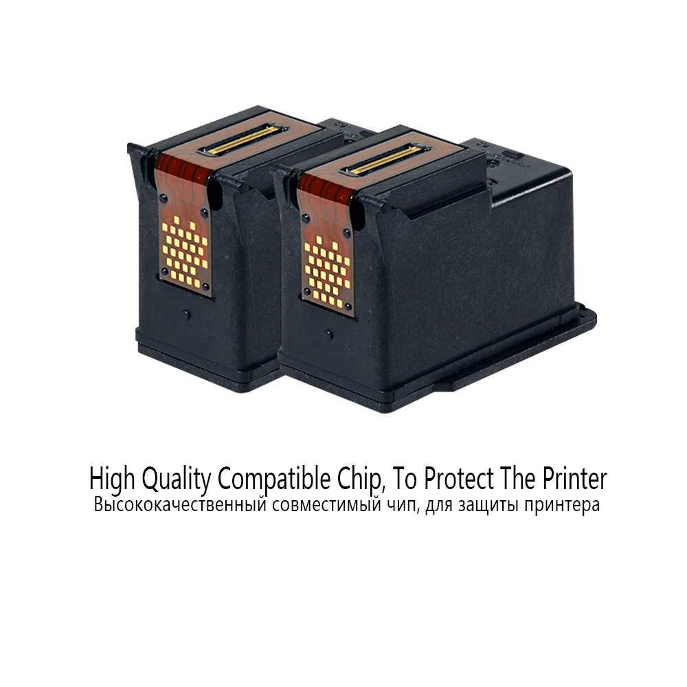 DMYON 650XL CISS luzem atramentu zamiennik dla Hp 650 XL dla Deskjet 1015 1515 2515 2545 2645 3515 3545 4515 4645 wkłady atramentowe drukarki