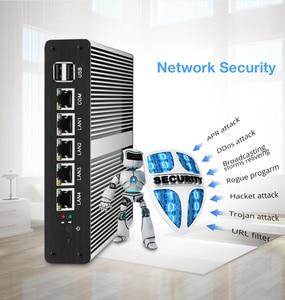 Image 4 - Soft Router Mini PC Intel Celeron J1900 N2830 4GB DDR3L RAM 60GB SSD 4*Gigabit Ethernet RJ45 Consel Firewall PFsense Appliance