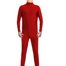 Детская Одежда для танцев красного цвета с длинными рукавами и воротником-стойкой; одежда для балета, катания на коньках, гимнастики