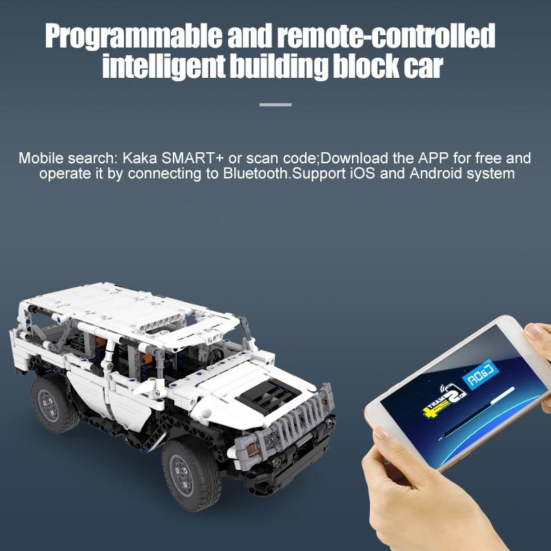 Cada Warrior H2 Remote Control Car, 575Pcs