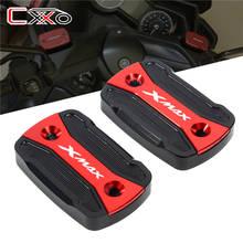 Adequado para yamaha X-MAX xmax 125 250 300 xmax125 xmax300 xmax250 2017-2020 par, fluido de freio e embreagem dianteira tampa do reservatório