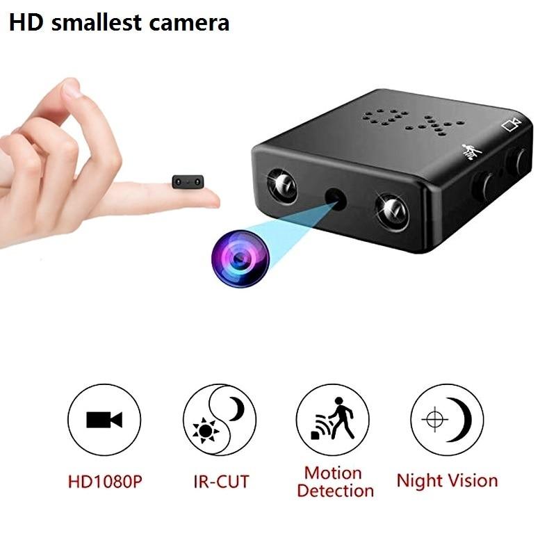XD IR-CUT Full HD 1080P Camera Smallest Mini Micro Infrared Night Vision XD A9 WiFi Cam Motion Detection DV Camera