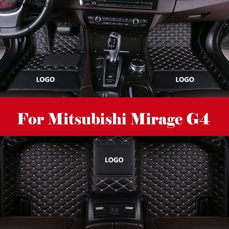 Auto Interior Decoration Car Protector Rugs Car Styling LHD car accessories car Floor Mats For Mitsubishi Mirage G4