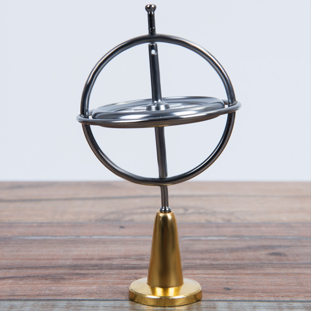 Classic Gyroscope Gyro Pressure Relieve Speed Balance Educational Toy