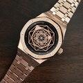 DIDUN Horloge Mannen Top Brand Luxe Big Bang Roestvrij Staal Mannelijke Horloges Lichtgevende Handen Heren Quartz Horloge 30m Waterdicht 2019