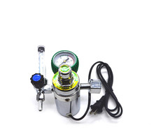 цена на 36V110V20V Carbon Dioxide Heating Pressure Reducer Pressure Reducer Valve Pressure Gauge