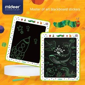 MiDeer Baby Classic Toys Blackboard Sticker Create Funny Education Safety 2mm 3Y+ kids Graffiti Artboard