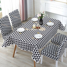 Selling Fawn Decorative Waterproof Linen Tablecloth Waterproof Thick Rectangular Wedding Dining Table Cover Tea Table Cloth цена 2017