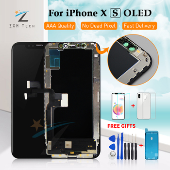 TFT Amoled para iPhone XS XR X montaje LCD con marco de repuesto 5,8 pulgadas TFT/OLED pantalla LCD módulo digitalizador pantalla táctil 3D