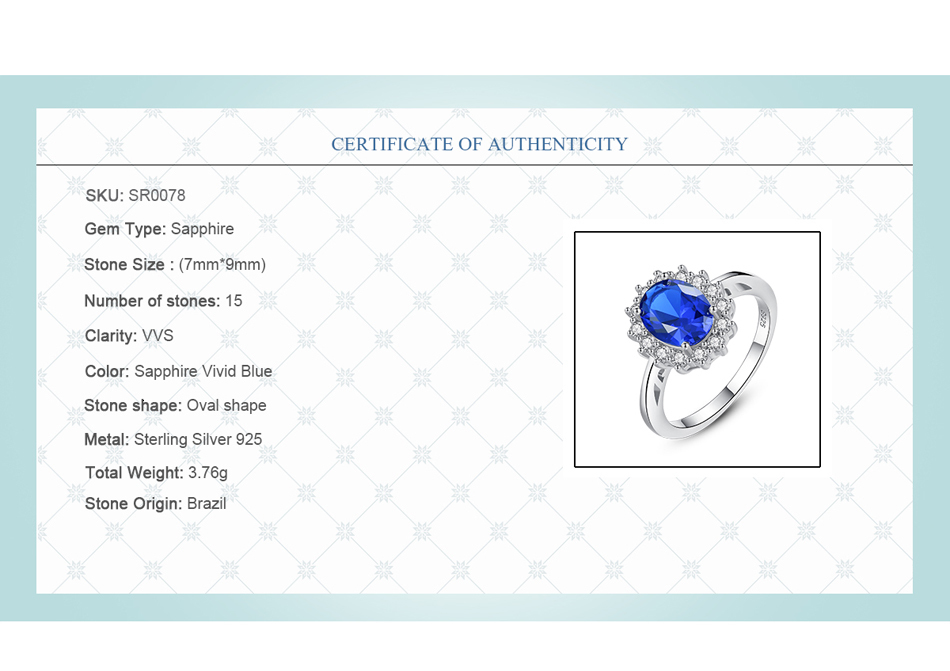 Hd500325d823241979acf66c4b6307f29G CZCITY Princess Diana William Kate Gemstone Rings Sapphire Blue Wedding Engagement 925 Sterling Silver Finger Ring for Women