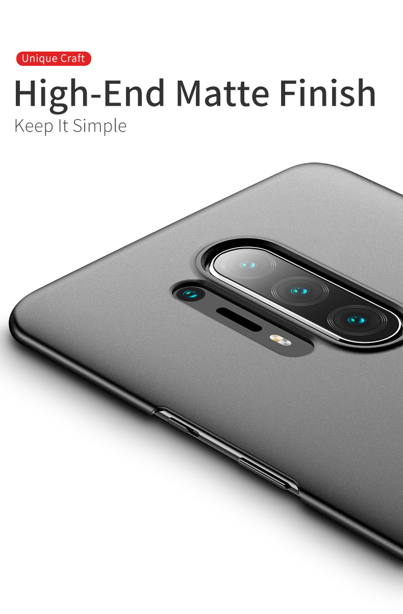 XUANYAO Luxury Cover For OnePlus 8 Pro Case Matte Slim Cover For OnePlus 8 Case Frosted Hard Back Cover One Plus 8 Pro 1+8 Pro (5)