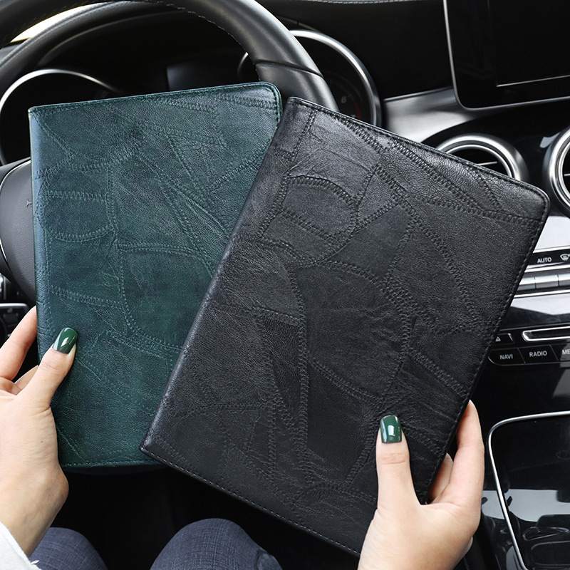 A2232 Smart iPad 10.2 for Silicon Business 2019 Luxury ipad Leather Cover For A2200 Case
