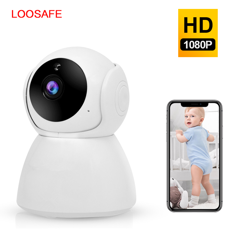 LOOSAFE 3MP HD Cloud Home Security Wireless WI-FI Camera Two Way - Security and Protection