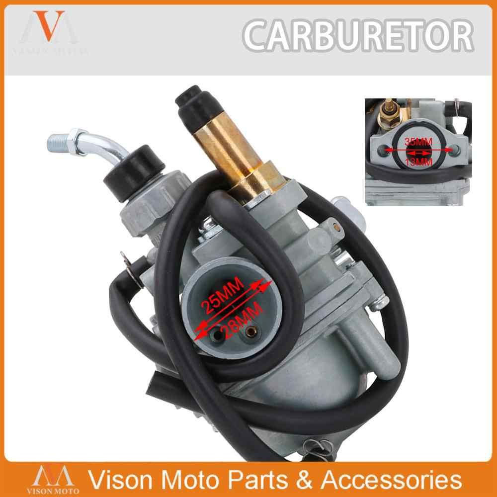 25 Mm Kualitas Tinggi Sepeda Motor Karburator Karbohidrat dengan Kinerja Tinggi Carburador untuk Yamaha TTR50 TTR 50 Skuter Sepeda Motor Bagian