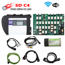 Best Quality Full Chip NEC Relays MB SD Connect Compact 4 MB Star C4 Software 2020.09 Diagnostic tool SD C4 with Wifi (12V+24V)