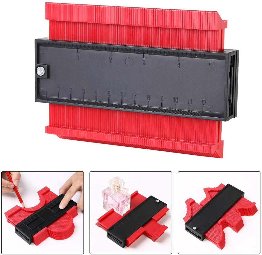 Contour Duplication Gauge Carpenter Tool Measuring Radiant Ruler Contour Meter Marking Tile Cuts Tiling Laminate Tools