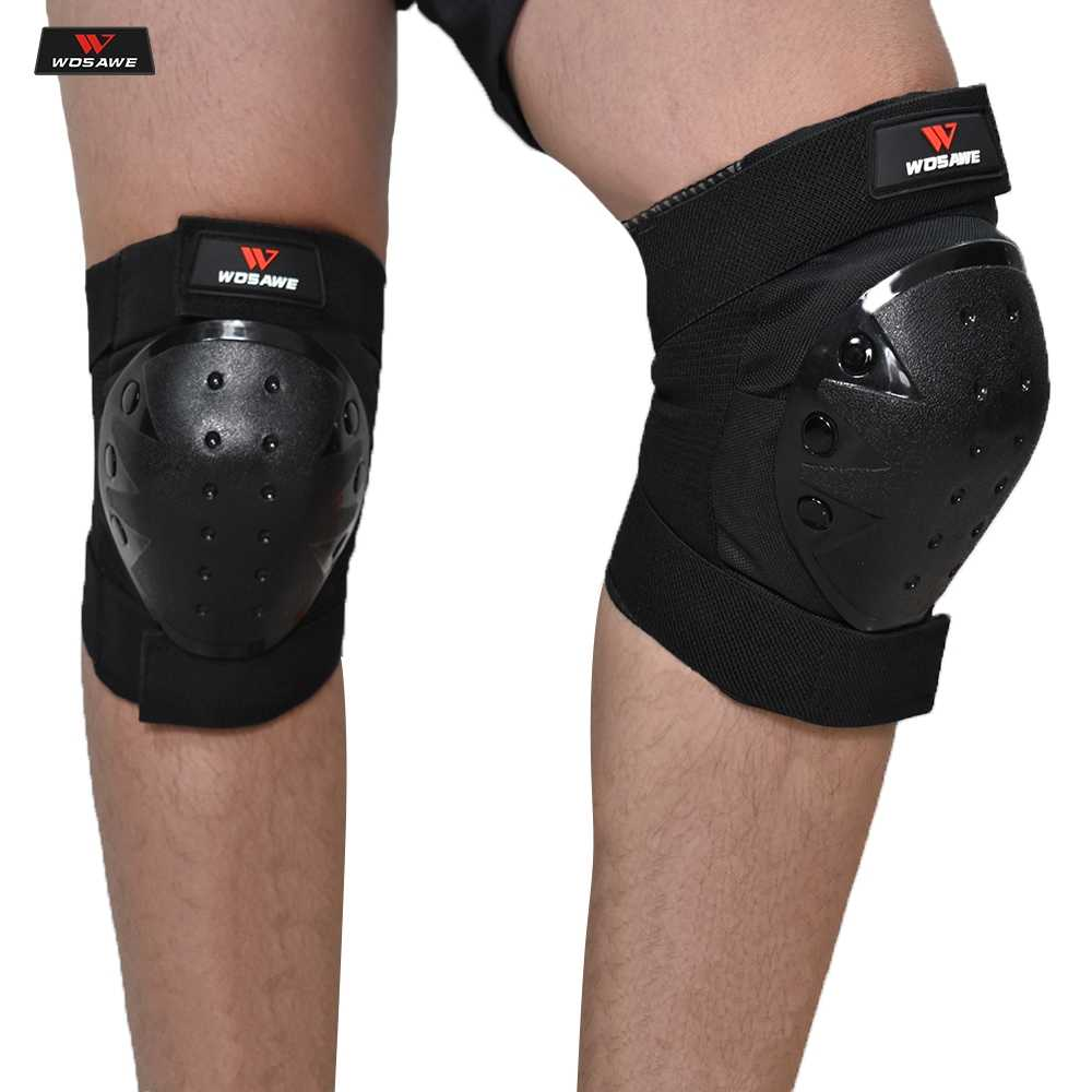 Защитные наколенники для мотокросса WOSAWE, защитные наколенники для катания на лыжах, сноуборде, тактические наколенники для катания на коньках, мотоциклетные наколенники