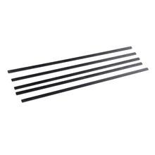 5 pçs barra de tira de fibra carbono plana para rc quadcopter xcopter asa & cauda peças