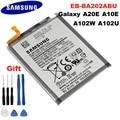 100% Оригинальный аккумулятор EB-BA202ABU для Samsung Galaxy A20e SM-A202F/DS SM-A202F 2920/3000 мА/ч, полная емкость литий-полимерный Аккумулятор Akku емкостью + Инструмен...
