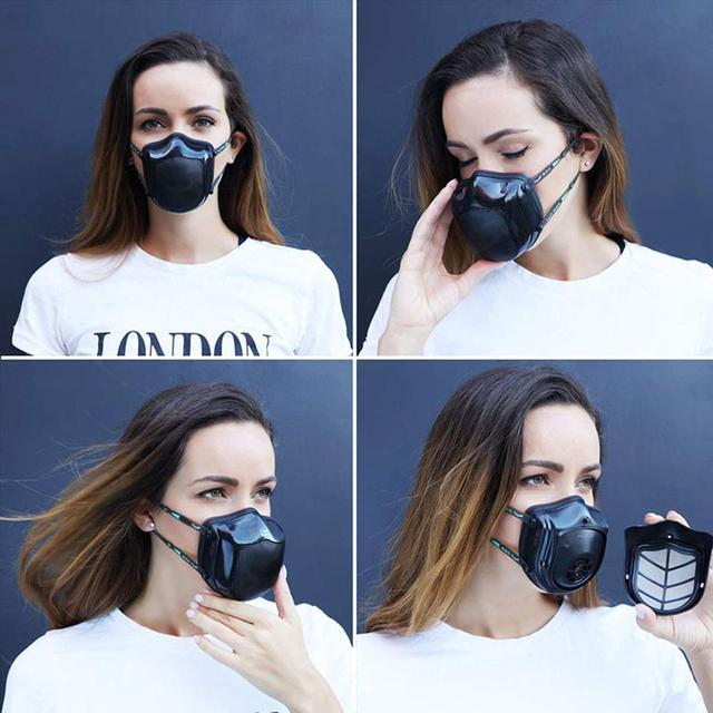 [spot] Xiaomi mijia original Q5s washable trend mask anti haze dustproof and breathable protection 2