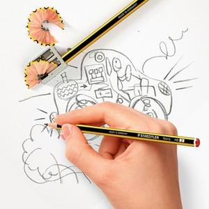 Image 4 - 12pcs STAEDTLER 120 סטנדרטי עפרונות כתיבה עיפרון מכתבים בית ספר ציוד משרדי ציור עיפרון שחור עופרת HB עפרונות