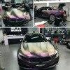 Glossy Chameleon Glitter Vinyl Sticker Car Wrap Film Sparking Diamond Glitter Color Change Decals Sheet 20CM 30CM 50CM 60CM 75CM discount
