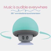 Мультяшные Bluetooth колонки портативные мини грибы формы мобильного телефона стойки Bluetooth колонки водонепроницаемые беспроводные динамики
