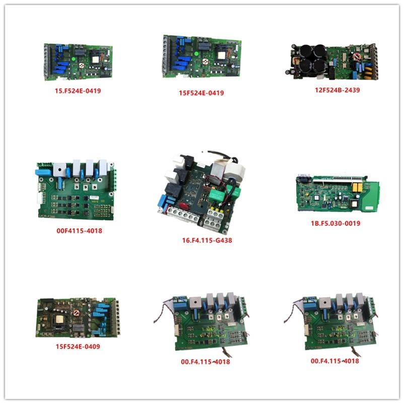 15F524E-0419  09.e4.060-1001  12F524B-2439  00F4115-4018  16.F4.115-G438  1B.F5.030-0019  15F524E-0409  00.F4.115-4018 Used
