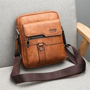 Image 5 - 新しい男性の小さなラップトップメッセンジャーバッグメンズレザー Ipad のミニタブレットショルダーマンクロスボディバッグため電話財布