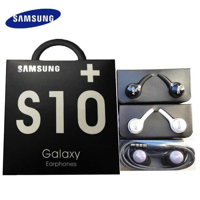 SAMSUNG écouteurs EO IG955 3.5mm dans loreille avec micro filaire AKG casque pour Samsung Galaxy s10 S9 S8 S7 S6 huawei xiaomi smartphone