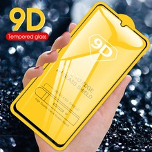 Tempered Glass for Huawei Y9 2019 Y7 Prime 9D Protective Glass For Huawei Y5 Lite 2018 Screen Protector for Y6 Y7 Pro 2019 Film(China)
