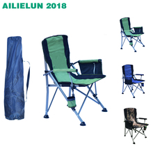 Portable Outdoor Camping Beach Chair Lightweight Foldable Hiking Backpacking camping Outdoor BBQ Picnic Seat Fishing Tools Ch cheap CN(Origin) Fabric Fishing Chair 58*58*95cm ALL-667 Outdoor Furniture Modern Convenient Side Bag outdoor folding chair 150kg