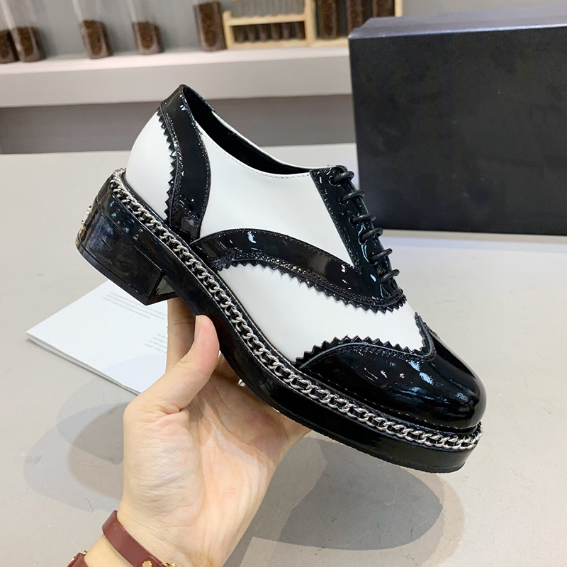 New leather shoes women chaussures femme scarpe donna oxford shoes for women zapatos oxford mujer