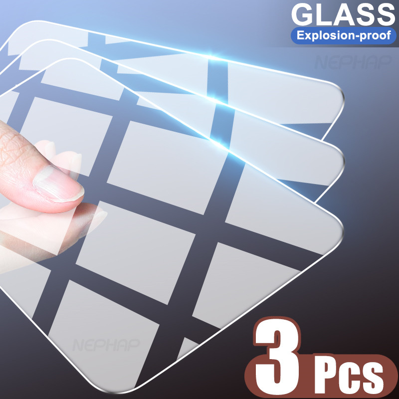 3PCS Tempered Glass For Huawei Honor 9X 9A 9C 9S X10 Screen Protector Glass Honor 8X 8A 8C 8S 9i 10i