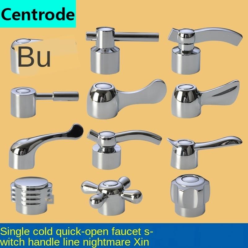 Faucet Handle Switch Handle Accessories Triangle Valve Small Spout Dish Basin Single Cold Quick Open Valve Core Handwheel